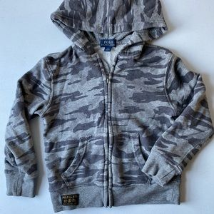 Polo Ralph Lauren grey camo sweatshirt